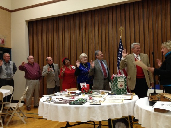 Installation of 2013 Officers by Gina Munger