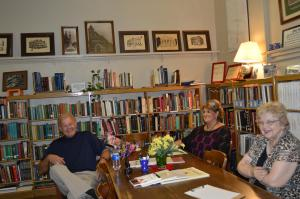 Carl Beckye and Anna Lou library pic
